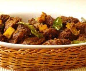 Beef Olathiyathu / Ularthiyathu Recipe
