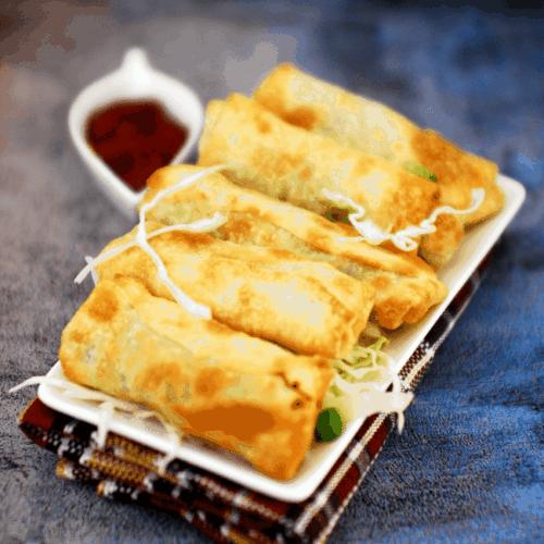 Chinese Chicken Spring Rolls