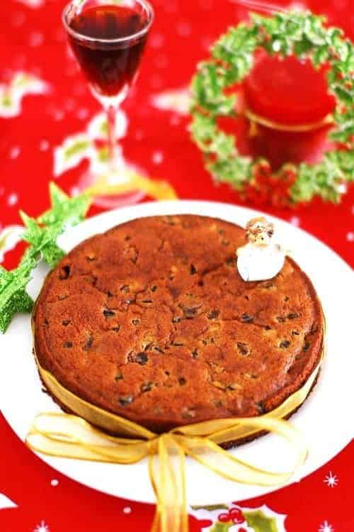Eggless Kerala Christmas Fruit Cake