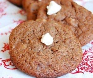 Chocolate Fudge brownie cookie