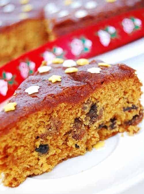 Kerala Christmas Fruit Plum Cake