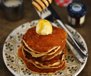 Lemon and Yogurt Pancake