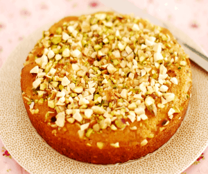 Mixed Nuts Cake