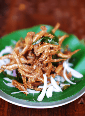 Netholi Fry (Fried Anchovy)