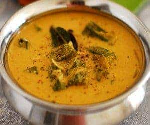 Okra (Vendakka) Curry