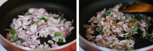 Step 2 - Ulli Theeyal Recipe