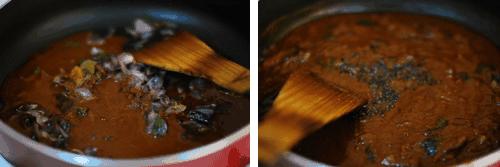 Step 3 - Ulli Theeyal Recipe
