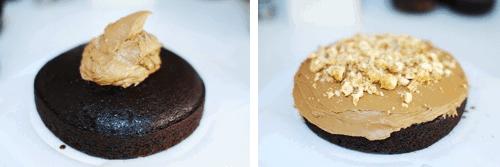 Step 7 - Choc Hazelnut Cake