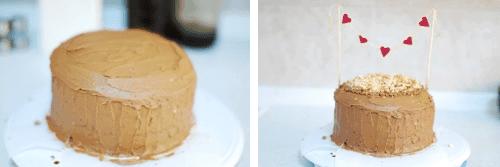 Step 9 - Choc Hazelnut cake