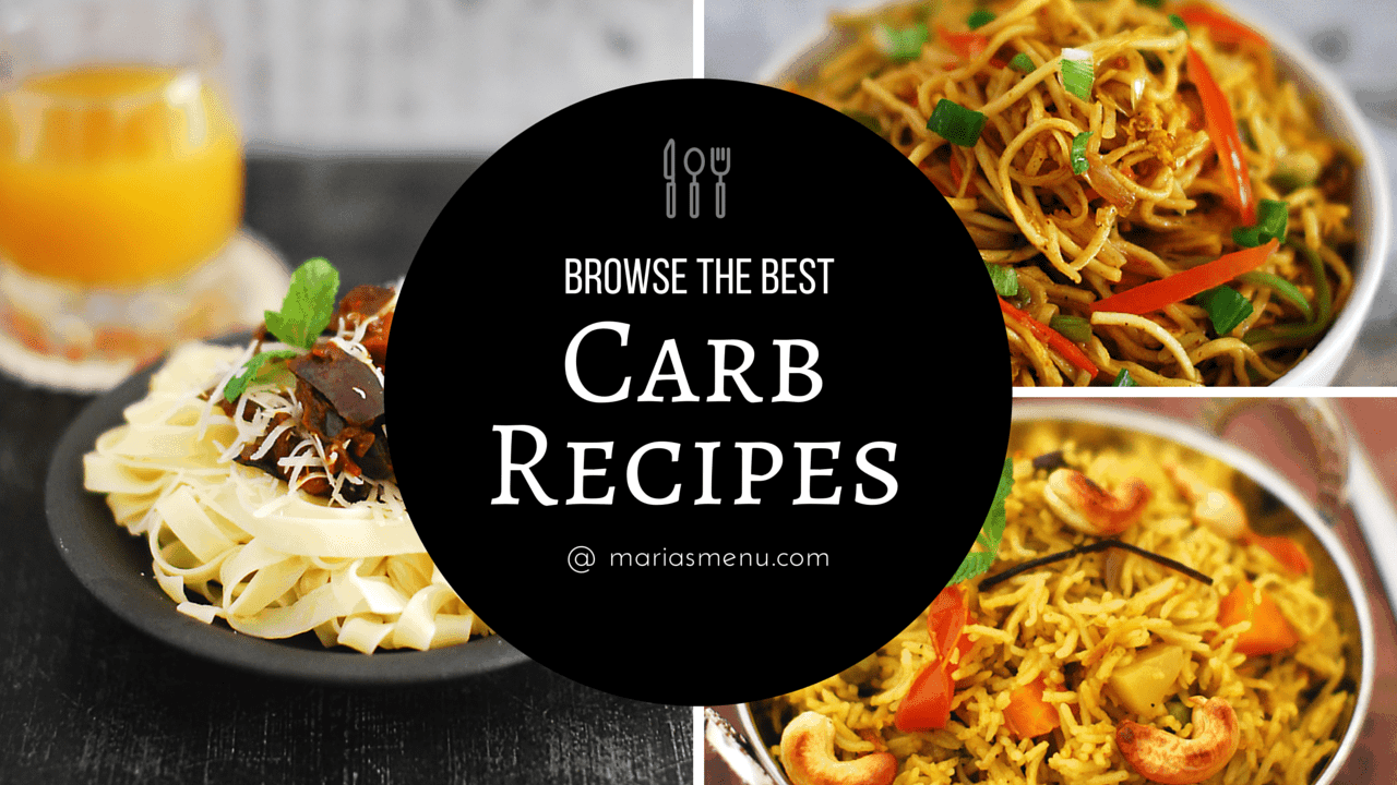 Browse The Best Rice, Pasta & Noodle (Carb) Recipes @ MariasMenu