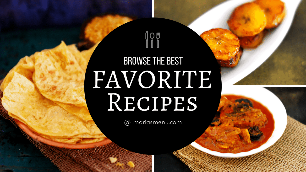 Browse Marias' Favorite Recipes