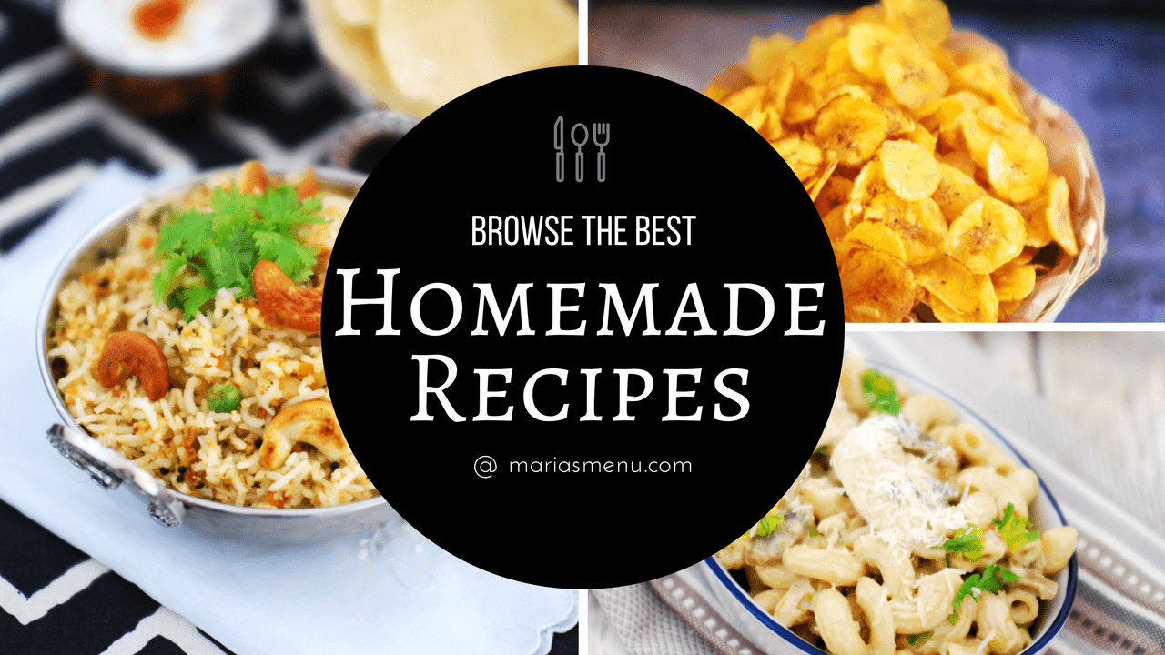 Browse The Best Homemade Recipes
