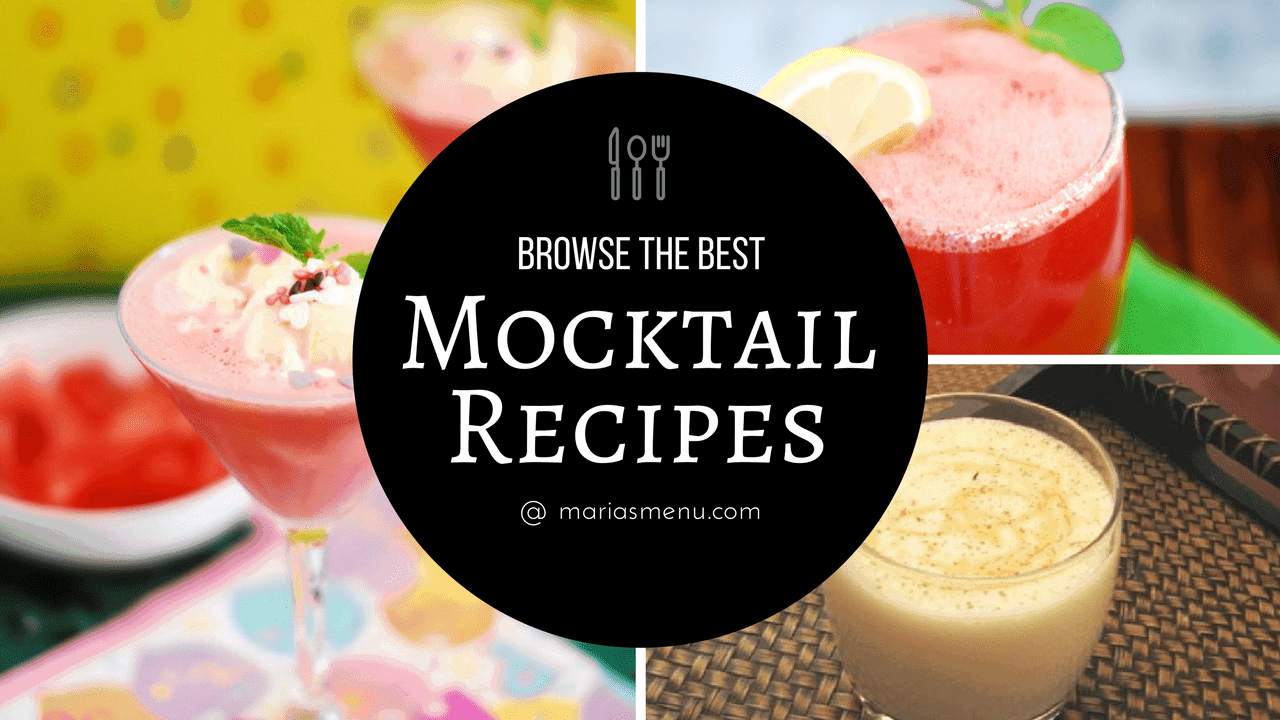 Browse The Best Mocktail & Cocktail Recipes