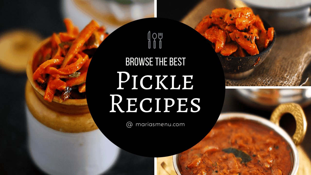 Browse The Best Pickle Recipes @ MariasMenu